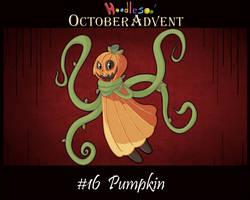 Hoodle October Advent #16 (open)
