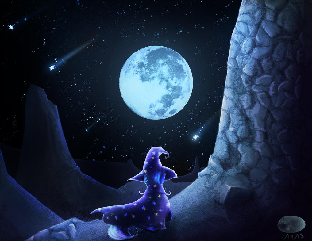 Moonwatching by ThePleonasticPotato