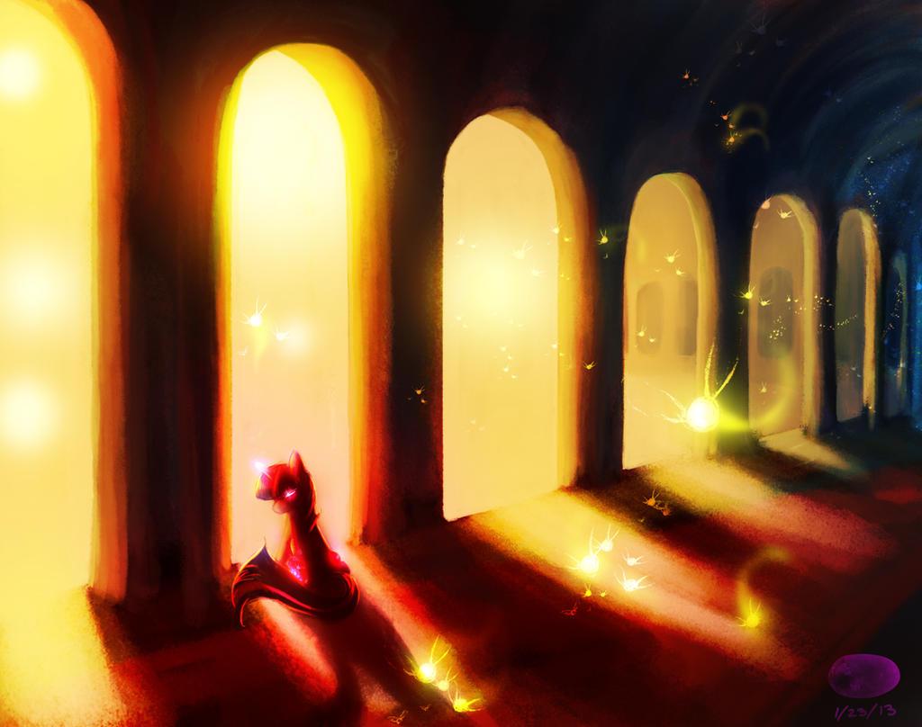 Fire Fae by ThePleonasticPotato