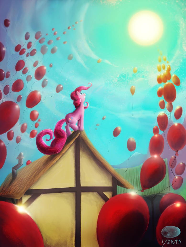 99 Red Balloons by ThePleonasticPotato