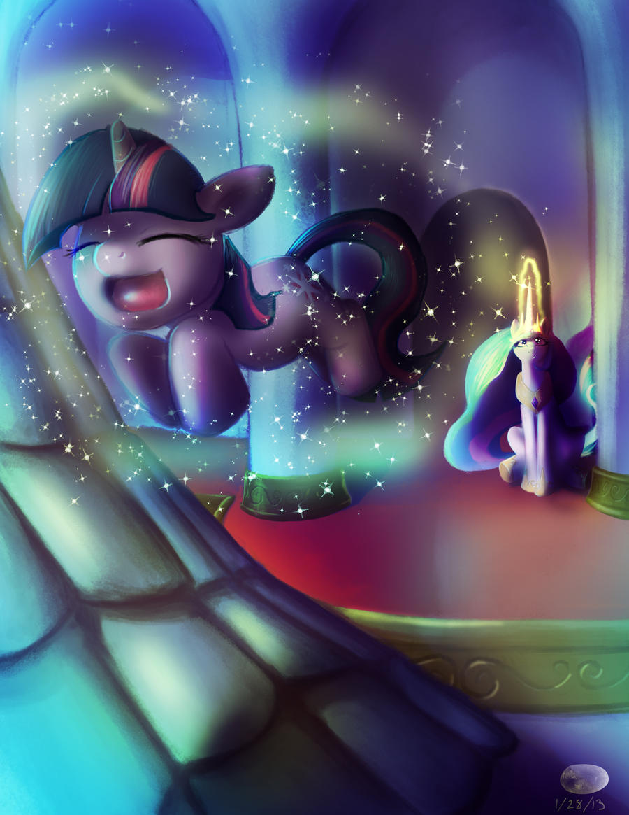 Flight Lesson by ThePleonasticPotato