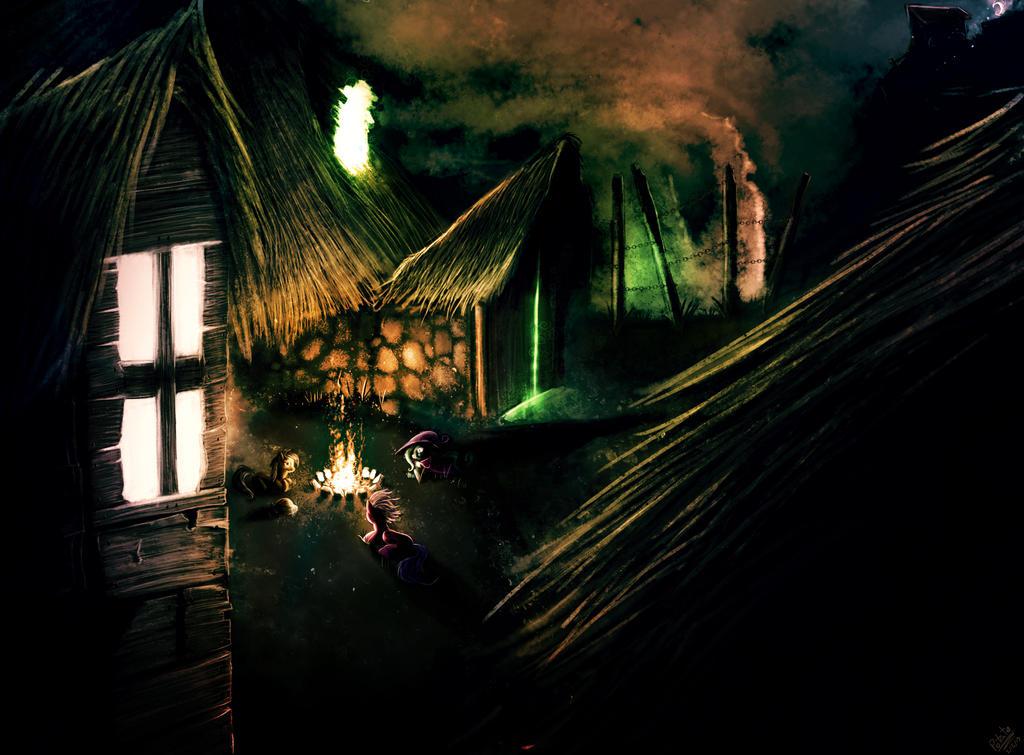 A Campfire Tale by ThePleonasticPotato