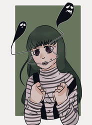 (DYS challenge) Depress ghost  by NekoKawaii-Muffet