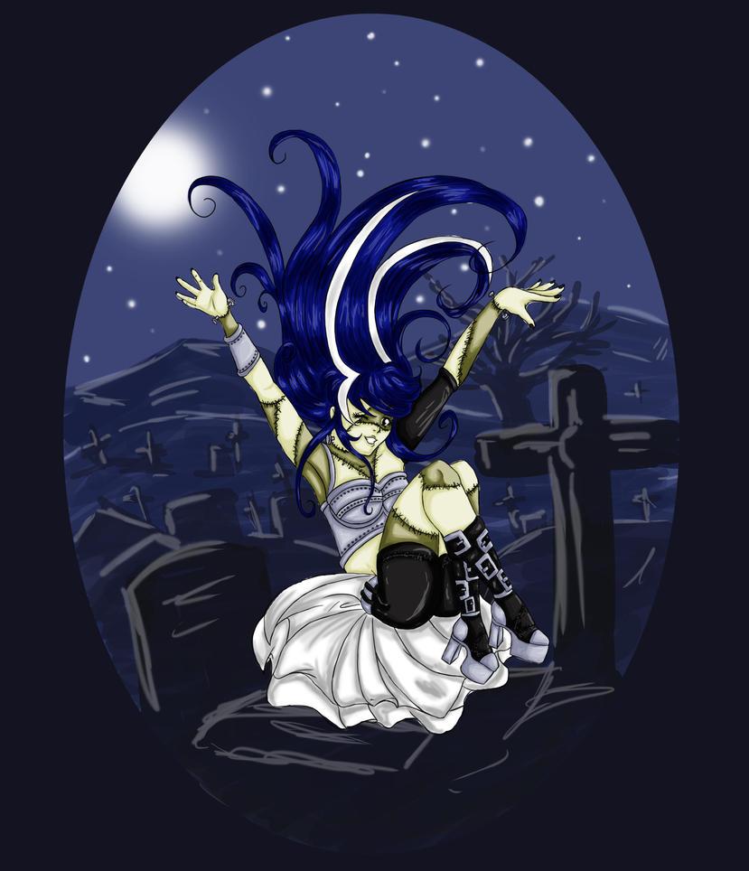 Franken-Heine Halloween Contest by MewIly