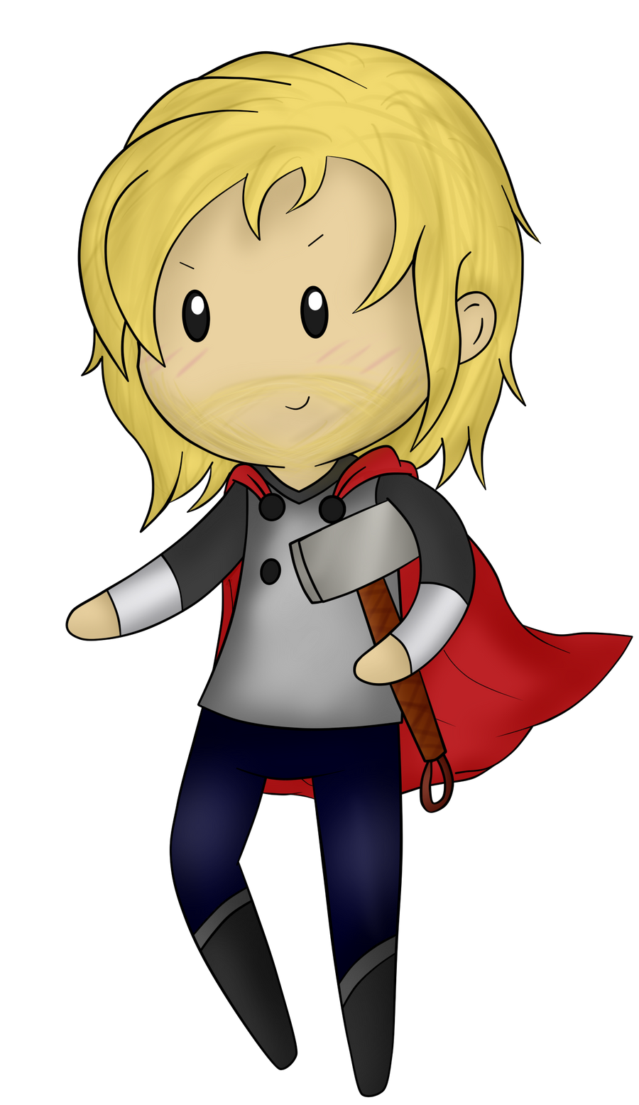 Chibi Thor by sharkcastic on DeviantArt