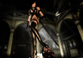 Ninja Girl ---020NET by bootzboy
