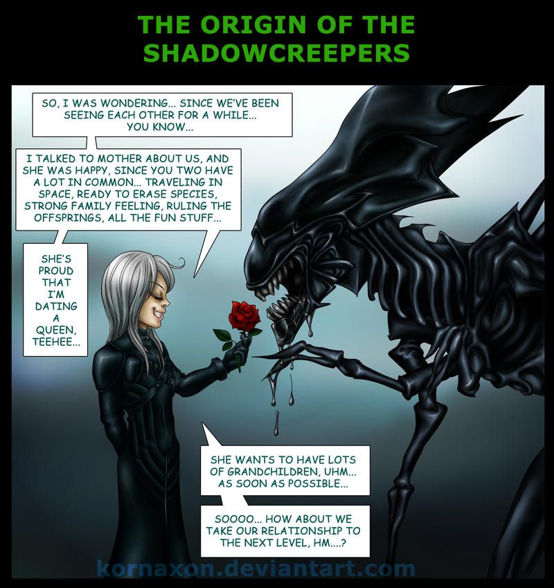 Origin of the Shadowcreepers by KorNaXon