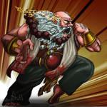 monk dwarf