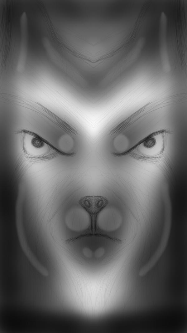 bad wolf by GrimNyt