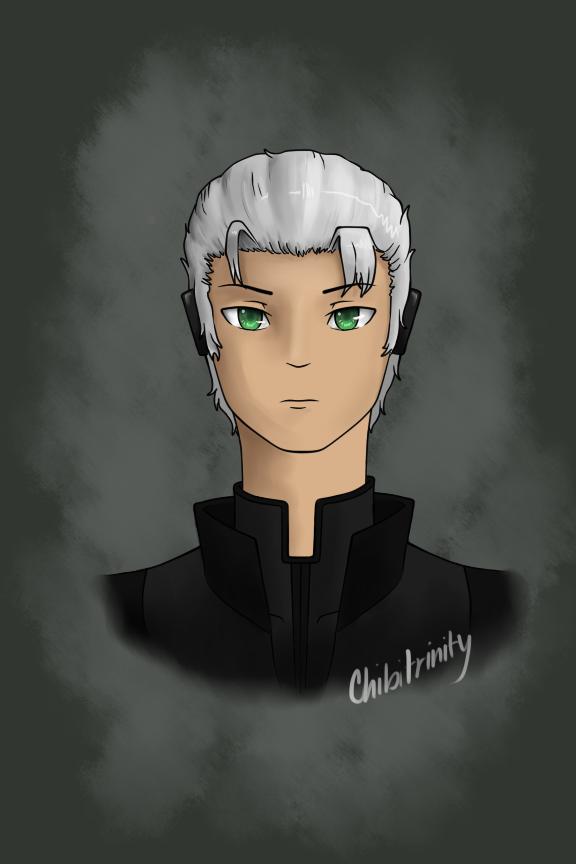 Gale portrait by chibitrinity