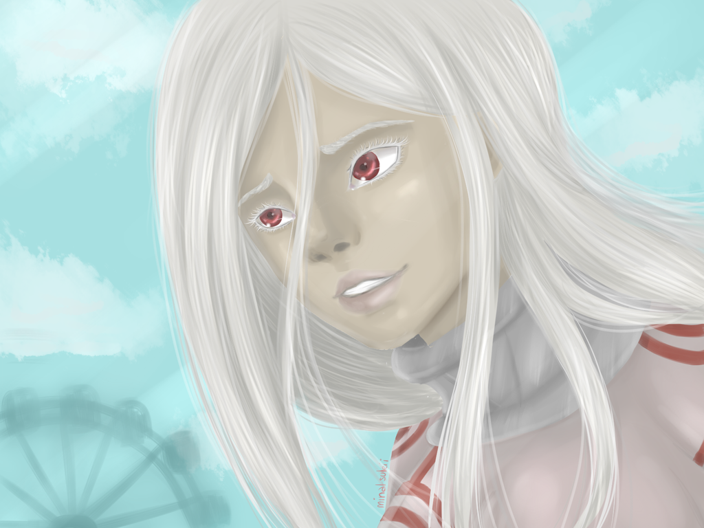 Shiro - Deadman Wonderland (2) by Minatsukii