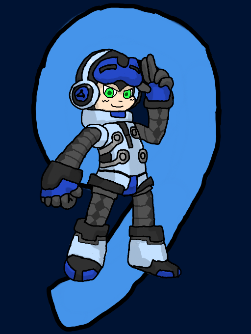 Mighty No. 9: At Your Beck and Call! by LunaClefairy