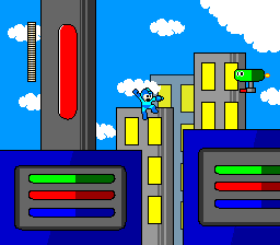 MegaMan +: Intro Stage by The-Illogical