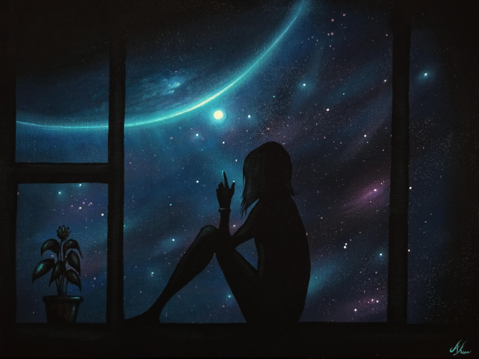 Touching the stars by alexkerrart