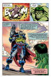 Hulk vs Deaths Head Page 4 - Update by Simon-Williams-Art