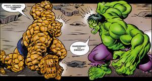 Clobberin time vs Hulk SMASH