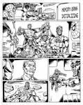 Spidey vs Sentinel.. the X-Men
