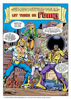 Discotronic Funk Commandos by Simon-Williams-Art