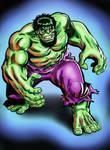 Sal Buscema Hulk - UPDATED