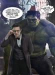 Hulk in a fez... part 1