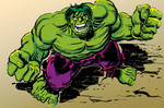 Hulk sketch - November 2013