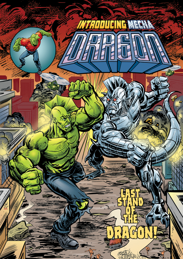 OUT TODAY!!! Savage Dragon pin-up for issue 193 by Simon-Williams-Art
