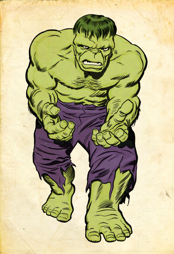 Top 5 Comic Book Monsters - Hulk