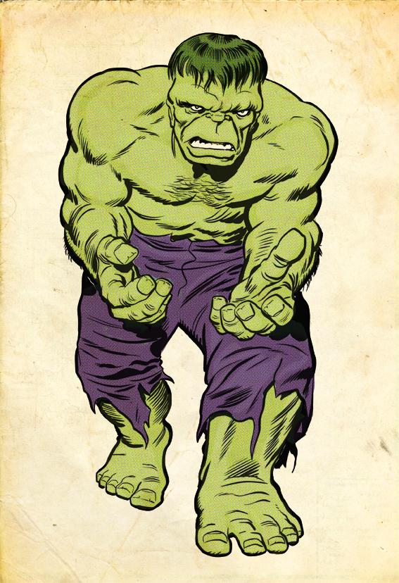Top 5 Comic Book Monsters - Hulk