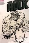 Incredible Hulk sketch cover 1