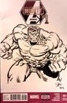 Incredible Hulk sketch cover 2