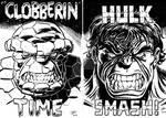 Clobberin' Time vs Hulk Smash!