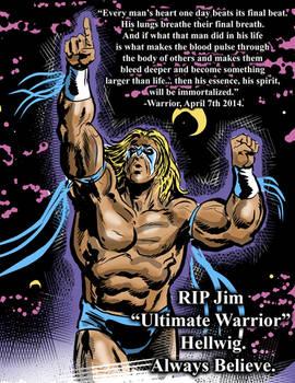Ultimate Warrior - tribute