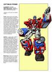 Transformers Universe - RiD Optimus Prime