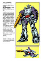 Behold... Galvatron by Simon-Williams-Art