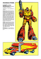 Arise... Rodimus Prime by Simon-Williams-Art