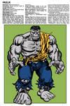 Marvel Handbook Grey Hulk
