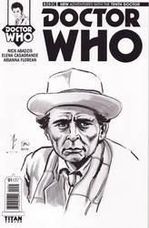 Doctor Who, aka Sylvester McCoy by Simon-Williams-Art