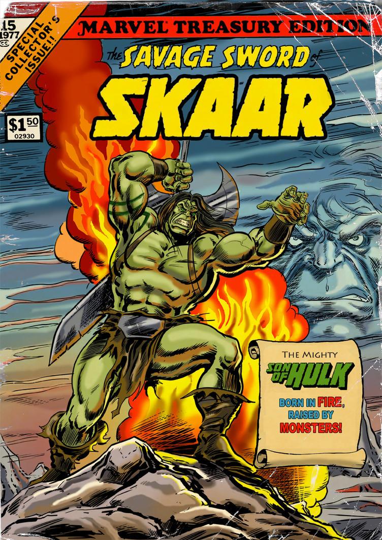 The Savage Sword Of SKAAR, Son Of Hulk! by Soulman-Inc