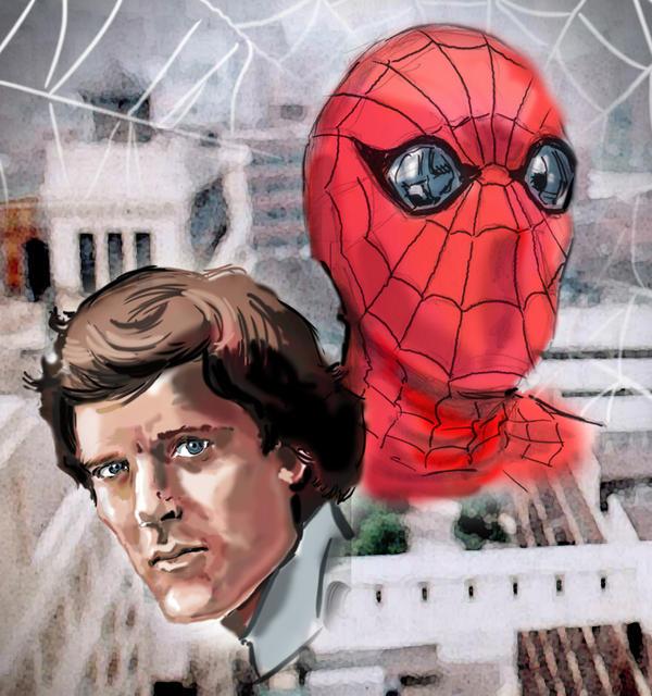 Nicholas Hammond as Spider-man by Simon-Williams-Art on ...