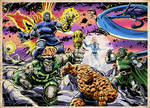 The Fantastic Four vs. Darkseid and the New Gods!