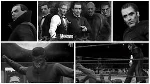 WWE 2K17 - Universal and Hammer Horror Monsters