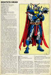 Official Death's Head of the Marvel Universe