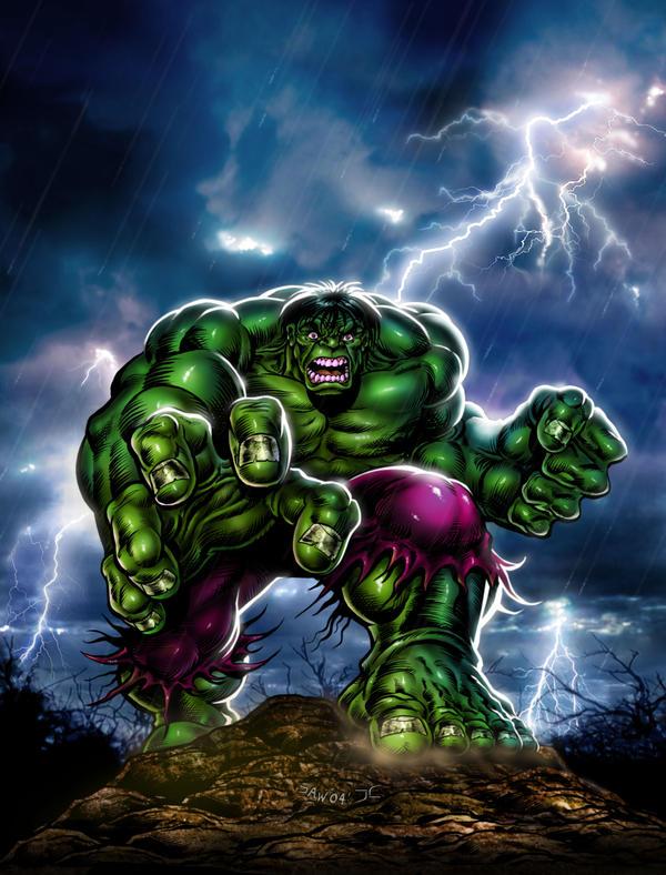 incredible hulk art gallery - photo #8