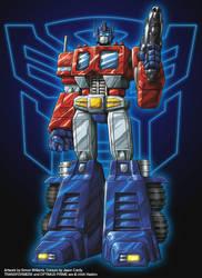 Optimus Prime by Simon-Williams-Art