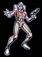 Arcee by Simon-Williams-Art