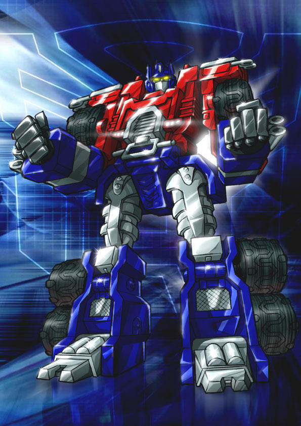 Optimus Prime... Armada by Simon-Williams-Art