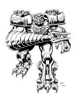 Megatron. Yessssss....... by Simon-Williams-Art