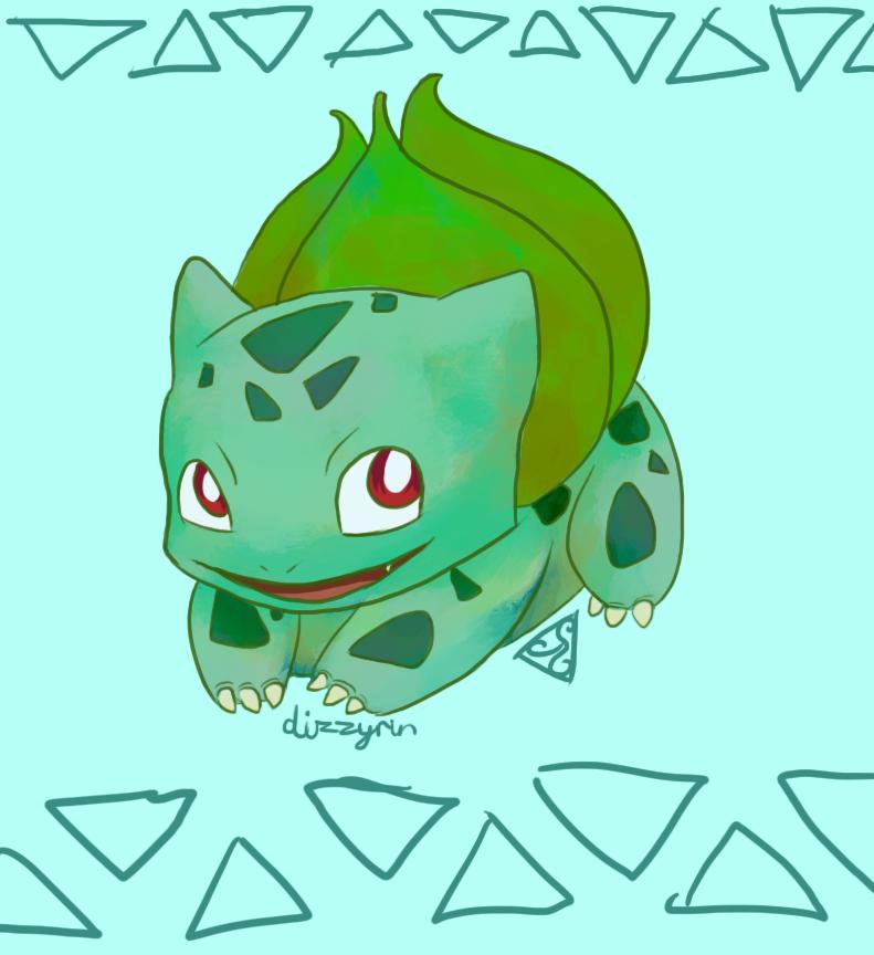 Bulbasaur by dizzyrin