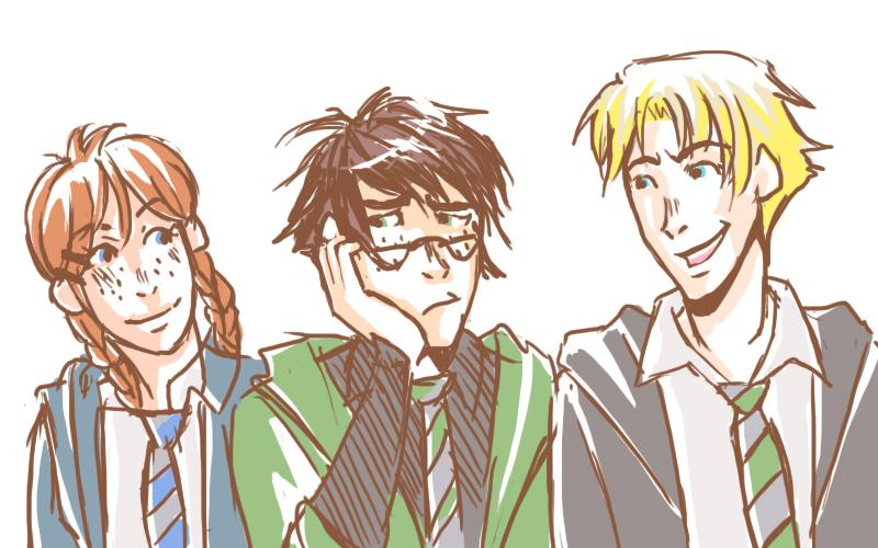 HP - New Trio by karaii
