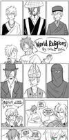 School - World Religions Final by karaii